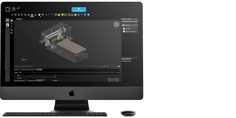 Front View iMac Pro Mockup by Anthony Boyd Graphics